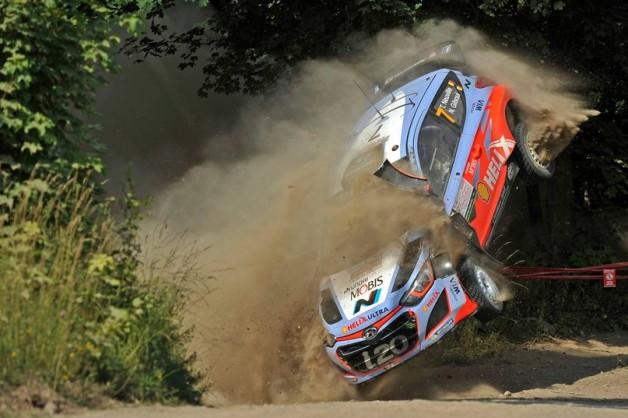 Ралли Польши WRC 2015 — 7 этап