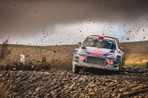 Ралли Великобритании WRC 2017 — 12 этап