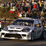 Markko Martin 2003-  Ford Focus - action