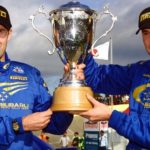 Ричард Бернс чемпион WRC 2001